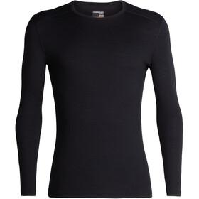 Icebreaker M's 200 Oasis LS Crewe Shirt Black